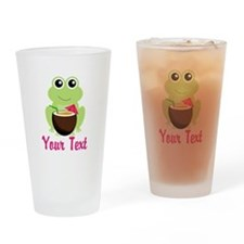 Personalizable Cocktail Frog Drinking Glass