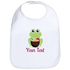 Personalizable Cocktail Frog Bib