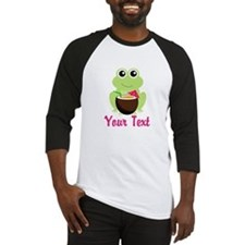 Personalizable Cocktail Frog Baseball Jersey