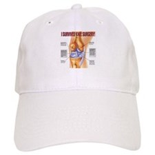 Unique Knee replacement Baseball Cap