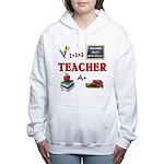 Teachers Do It With Class Women's Hooded Sweatshir