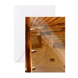 Kiva 1 Greeting Cards (Pk of 10)