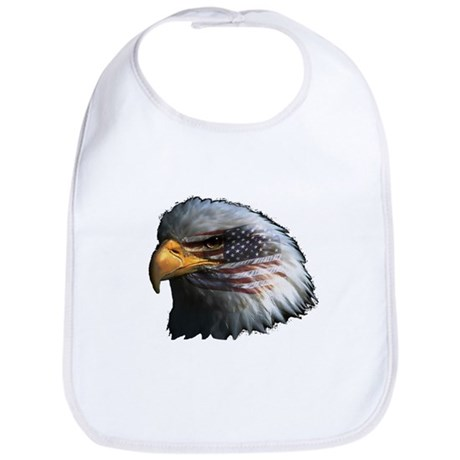 American Flag Eagle Bib