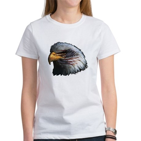 American Flag Eagle Women's T-Shirt