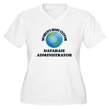 World's Most Clever Database Adm Plus Size T-Shirt