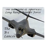 B-1 Lancer Wall Calendar