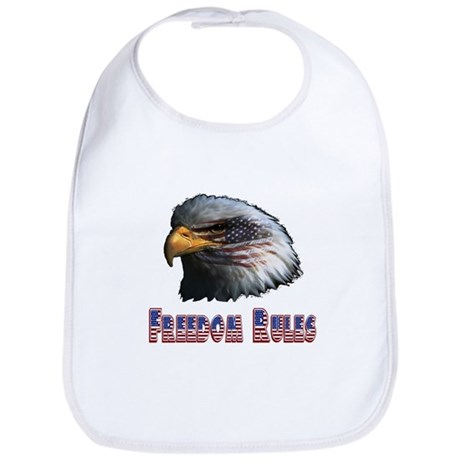 Freedom Rules Eagle Bib