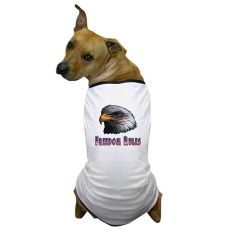 Freedom Rules Eagle Dog T-Shirt