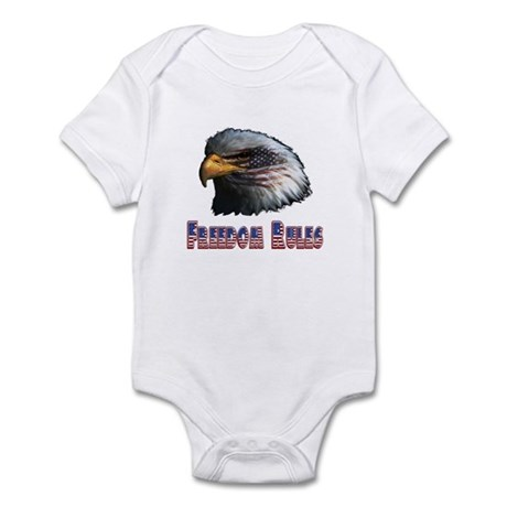 Freedom Rules Eagle Infant Bodysuit