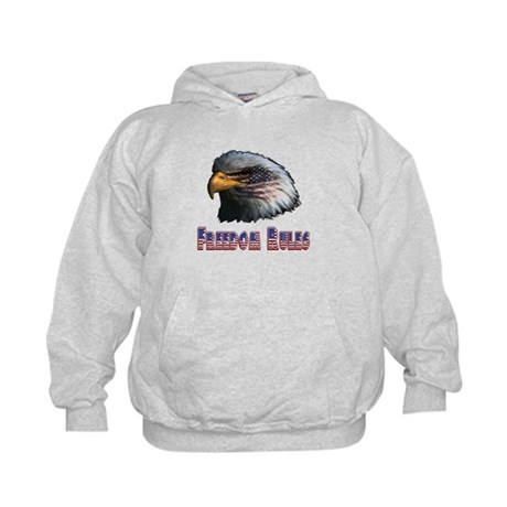 Freedom Rules Eagle Kids Hoodie
