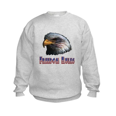 Freedom Rules Eagle Kids Sweatshirt