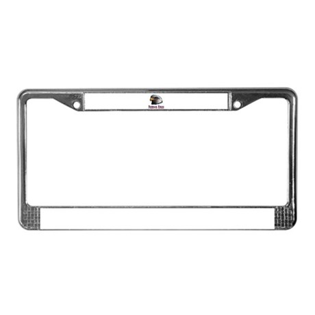 Freedom Rules Eagle License Plate Frame
