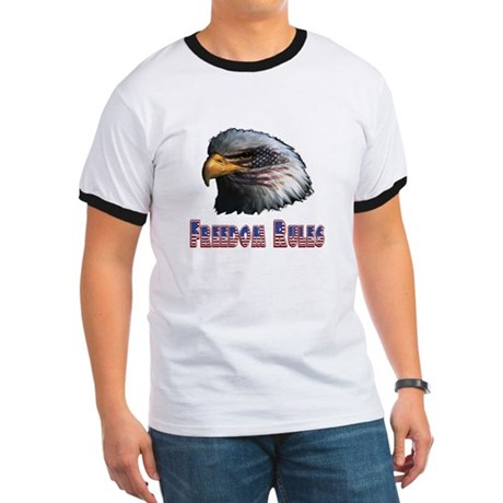 Freedom Rules Eagle Ringer T