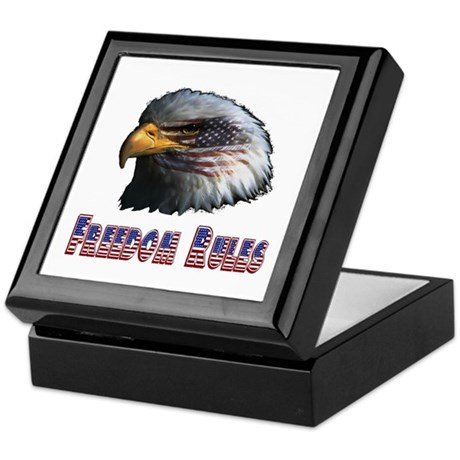 Freedom Rules Eagle Keepsake Box