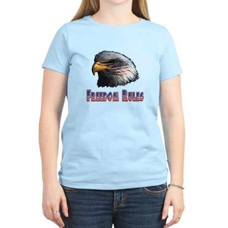 Freedom Rules Eagle Women's Light T-Shirt