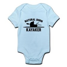 Natural Born Kayaker Infant Bodysuit