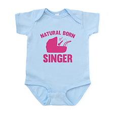 Natural Born Singer Infant Bodysuit