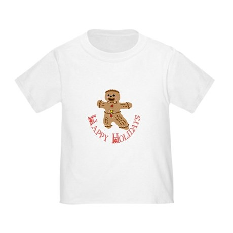 Gingerbread Man Toddler T-Shirt