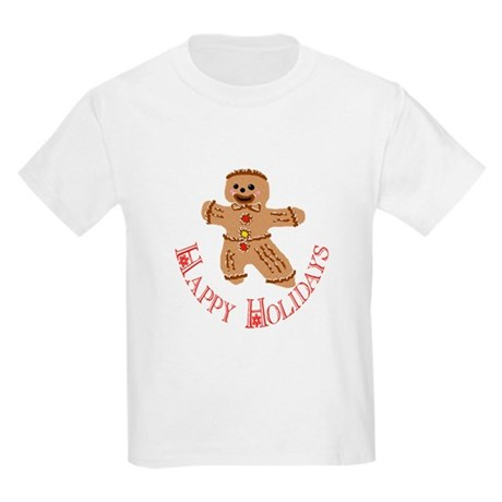 Gingerbread Man Kids Light T-Shirt