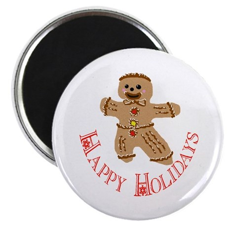 Gingerbread Man Magnet