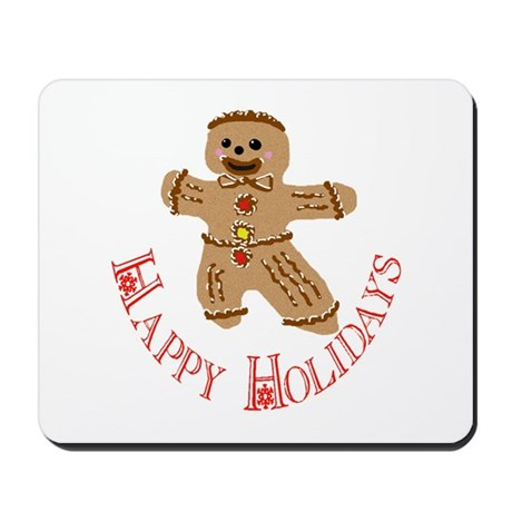 Gingerbread Man Mousepad