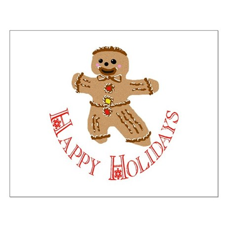 Gingerbread Man Small Poster