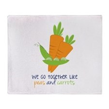 We Go Together Throw Blanket