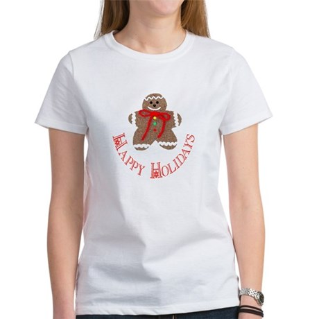 Gingerbread Holidays Women's T-Shirt