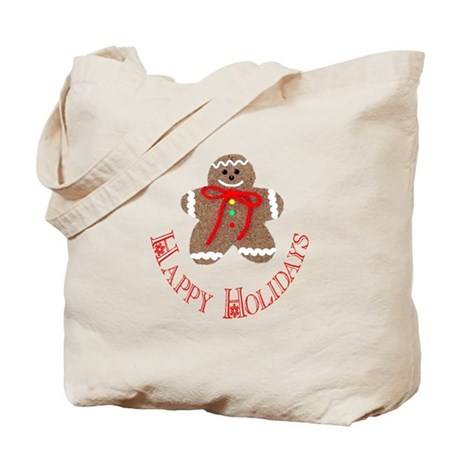 Gingerbread Holidays Tote Bag