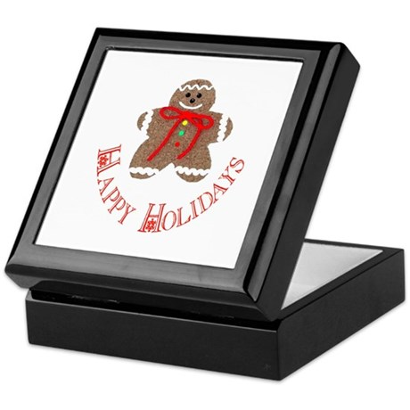Gingerbread Holidays Keepsake Box
