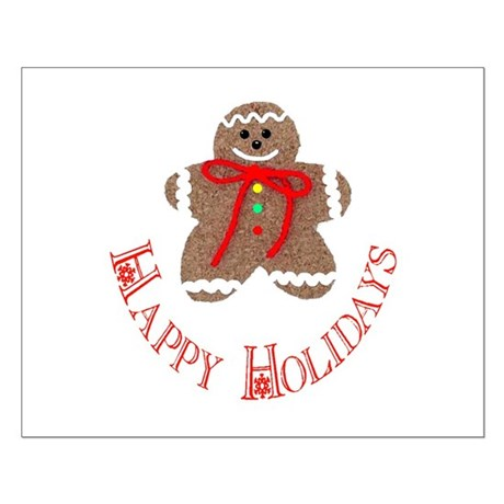Gingerbread Holidays Small Poster