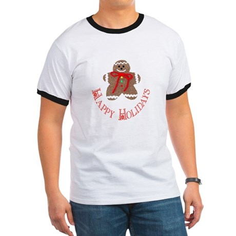 Gingerbread Holidays Ringer T