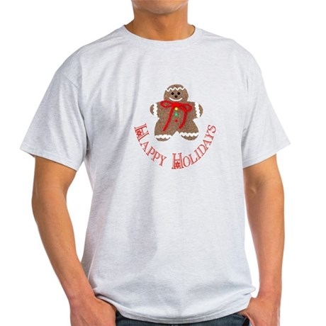 Gingerbread Holidays Light T-Shirt