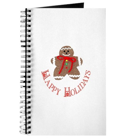 Gingerbread Holidays Journal