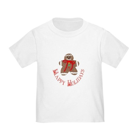 Gingerbread Holidays Toddler T-Shirt