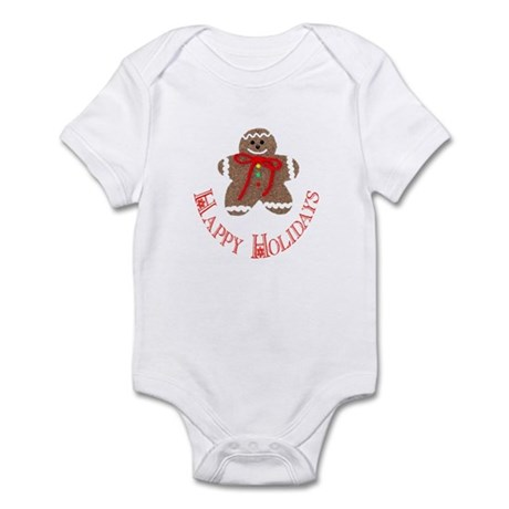 Gingerbread Holidays Infant Bodysuit