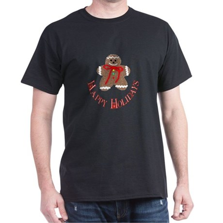 Gingerbread Holidays Dark T-Shirt