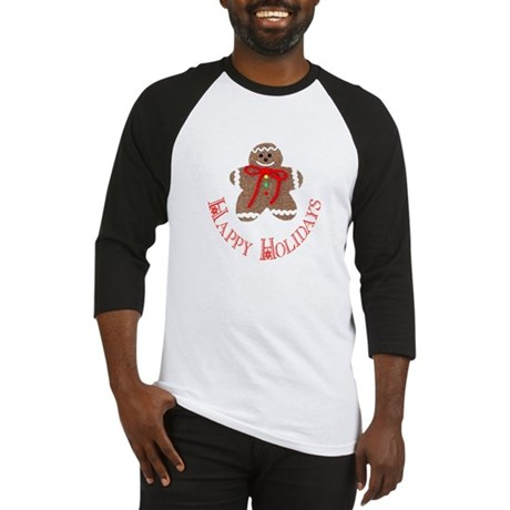 Gingerbread Holidays Baseball Jersey