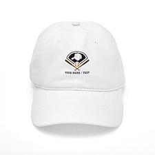 Custom Name/Text Baseball Gear Baseball Baseball Cap