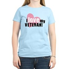 Unique Veteran girlfriend T-Shirt