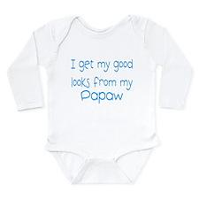 Funny Good Long Sleeve Infant Bodysuit