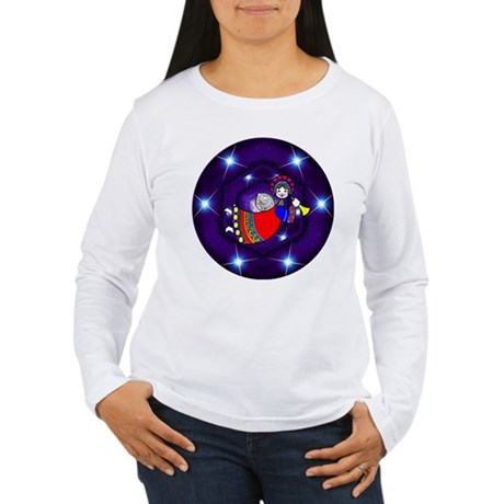 Christmas Angel Women's Long Sleeve T-Shirt
