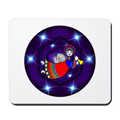 Christmas Angel Mousepad