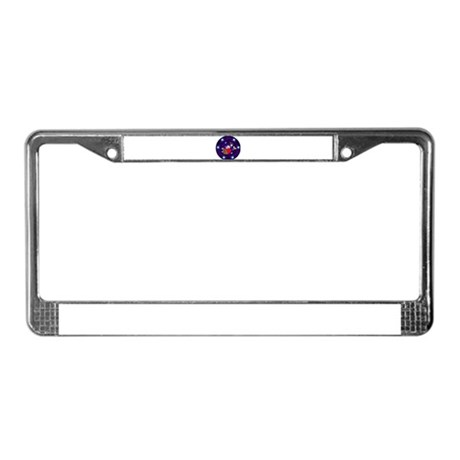 Christmas Angel License Plate Frame