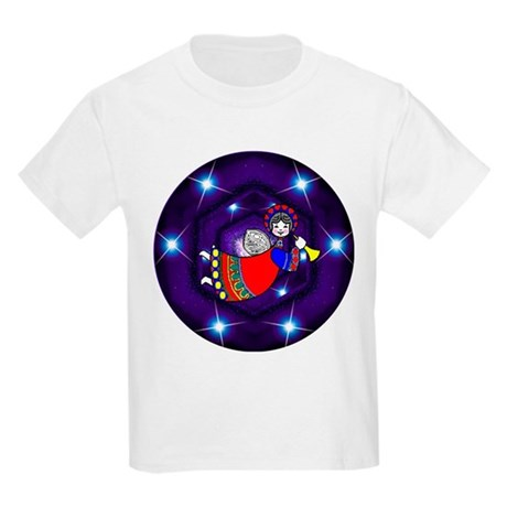 Christmas Angel Kids Light T-Shirt