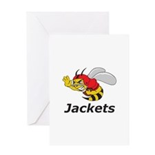JACKETS FOOTBALL Greeting Cards