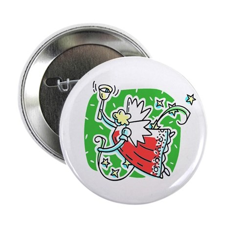 "Whymsical Angel 2.25"" Button (100 pack)"