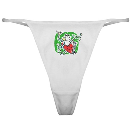 Whymsical Angel Classic Thong