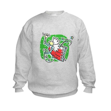 Whymsical Angel Kids Sweatshirt
