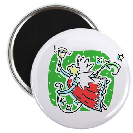 "Whymsical Angel 2.25"" Magnet (100 pack)"